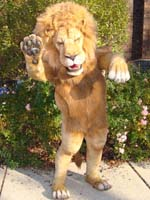 animatronic lion suit