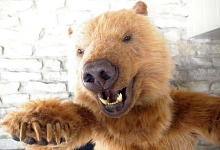 realistic grizzly bear costume