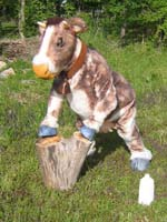 realistic cow suit costume